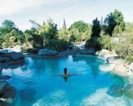 Thermal pools, Hamner Springs, New Zealand