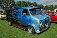 1970s custom show vans
