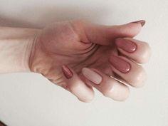 Nails by me 😊 #semilac #nails #indianroses