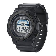 Mens Watches Top Brand Luxury Multifunction Kid Child/Boy's Sports Silicone Strap LED Digital Watch Reloj Ninos Deporte