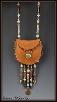 Pouch order #2 004 by Beaded Art Jewelry, via Flickr