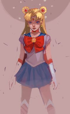 bekkaml: Guess who just started watching SAILOR MOON!!!! ONLY...