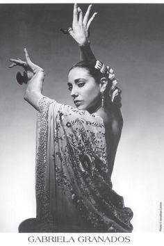 Spanish flamenco ballerina moves