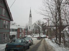 Photo taken early January 13, 2013 in Montpelier, Vermont by my husband Robert Kjolberg.
