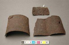 Gauntlet Fragments, Historiska Museet, Stockholm ref_arm_1331 Date: 1340