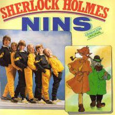 El disco de la versión española del opening de Sherlock Holmes.