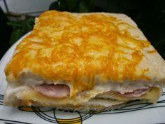 INGREDIENTES :12 rebanadas de pan de molde sin corteza / 1 pieza de fiambre de pavo de 400 gr / lonchas de queso light. /queso ra...
