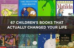 67 Children's Books That Actually Changed Your Life