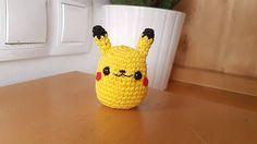 Pikachu amigurumi crochet kawaii