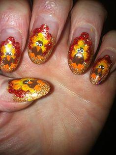 art galleri, thanksgiv nail, nailart, nail magazin, nail art ideas