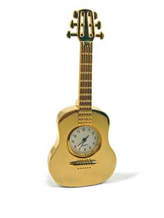 Classical Guitar Clock