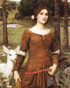 """Waterhouse. Reminds me of the Grimm Fairytale """"Brother and Sister"""""""