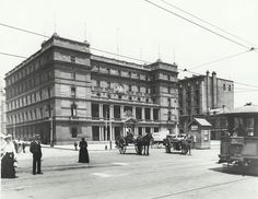 Customs House, Circular Quay, To put this photo in perspective, the Wright Brothers were likely just a few months away from their first flight (Dec, . The Rocks Sydney, Customs House, Sydney News, Historical Images, England, Street View, Australia, In This Moment, History