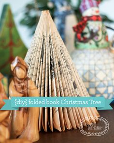 Folded Book Trees