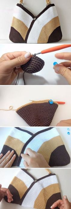Lots of different bag tutorials can be found on our blog. Some of them are harder to make than the others. This particular bag is really easy to make. Not saying that this is the easiest bag of all, but pretty much any crochet lover can finish this project. The tutorial is clean and detailed.… Read More Crochet Bag – Easy