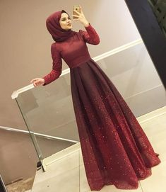 Al-Marah - Tılsım Islamische Kleidung Abendkleid, Hijab Prom Dress, Hijab Evening Dress, Muslim Dress, Muslim Hijab, Abaya Fashion, Muslim Fashion, Fashion Dresses, Hijabi Gowns, Mode Abaya