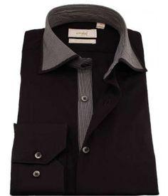 Chemise col cassé - LNASTOCK   Les chemises cintrées   Pinterest 72220e6b1d28