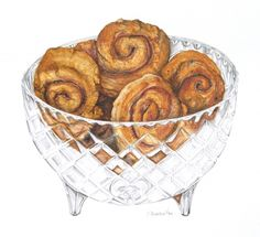 buttermilk cinnamon scrolls - by Alexandra Nea
