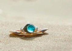 NEW Mako Mermaid Ring Sterling Silver ring. via Etsy. I NEEEEEED. @Kayla J