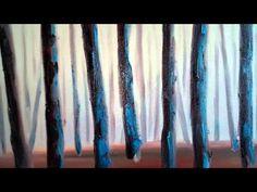 Palette Knife Painting Demo www.lisaelley.com #art #painting #paletteknife