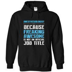 Sweatshirt Awesome Anesthesiologist Looks Like Tee Shirt Hoodie