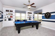 Gehan Homes Game Room Austin, Texas | Avalon - Stanford www.gehanhomes.com/gallery/gameroom-gallery/ #Gehanhomes