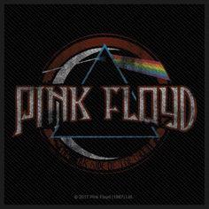 Pink Floyd Dark Side of the Moon Aufnäher Pink Floyd Logo, Pink Floyd Poster, Pink Floyd T Shirt, Pink Floyd Dark Side, Rock Band Logos, Rock Bands, Dark Side Of Moon, Rock Posters, Punk Shop