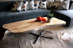 Mahogany & Wood reclaimed table by MFEO