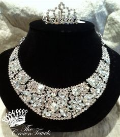 Gorgeous Necklace and tiara!   -Beekeeper's Cottage