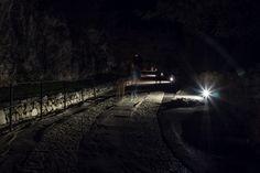 Castel Beseno di notte