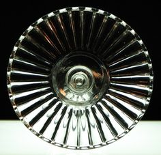 Tall Cakes  Cake Stands  Findlay Glass Co.  Crystal Rib - Crystal