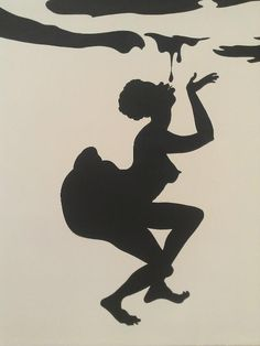 fabulous silhouette by Kara Walker