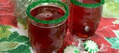 The easiest Christmas punch you've ever made! This was my kids' favorite drink for holiday meals and I still love it today!