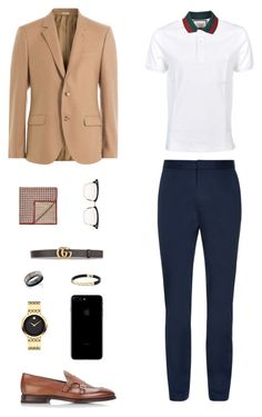"""House of Madalani"" by houseofmadalani on Polyvore featuring Alexander McQueen, Gucci, Henderson, Thom Browne, Brunello Cucinelli, Movado, David Yurman, men's fashion and menswear"