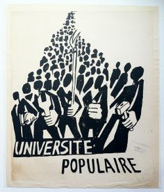 BnF - Esprit(s) de mai 68 [Universidade popular] Protest Posters, Protest Art, Political Posters, Political Art, Political Campaign, Marie Curie, Propaganda Art, By Any Means Necessary, Graffiti