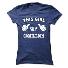 This girl loves her GOMILLION #name #tshirts #GOMILLION #gift #ideas #Popular #Everything #Videos #Shop #Animals #pets #Architecture #Art #Cars #motorcycles #Celebrities #DIY #crafts #Design #Education #Entertainment #Food #drink #Gardening #Geek #Hair #beauty #Health #fitness #History #Holidays #events #Home decor #Humor #Illustrations #posters #Kids #parenting #Men #Outdoors #Photography #Products #Quotes #Science #nature #Sports #Tattoos #Technology #Travel #Weddings #Women