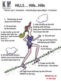 Hills workout