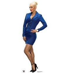 Life-size John Cena - WWE 2 Cardboard Standup that stands 73 inches tall and 25 inches wide. Lana Hot, Cj Perry, Life Size Cardboard Cutouts, Princess Leia Slave, Wwe The Rock, Wwe Girls, Wrestling Divas, John Cena, Wwe Superstars