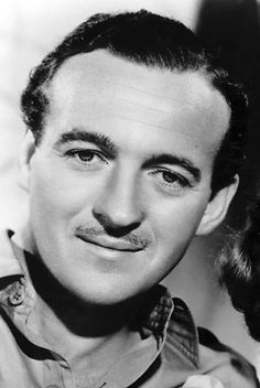 David Niven. Very suave and sophisticated and a really great but underrated actor. They don't make 'em like him anymore ... more's the pity.
