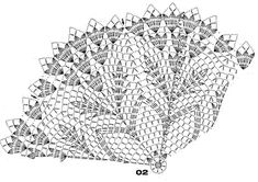 Photo - Her Crochet Crochet Dollies, Crochet Potholders, Easter Crochet, Crochet Tablecloth, Crochet Round, Crochet Home, Crochet Doily Diagram, Crochet Doily Patterns, Crochet Mandala