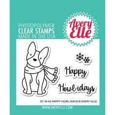 Avery Elle-Clear Stamps. These clear stamps peel off their backing and stick to any acrylic block making for easy stamping. Simply apply your favorite ink and stamp crisp clear images! They are made f