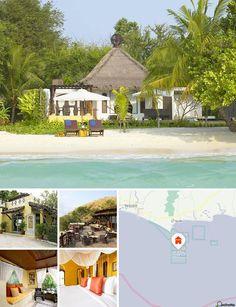 Este hotel goza de una ubicación idílica única doblemente costera, en una estrecha lengua de tierra entre las playas orientadas al este y al oeste de Ao Kiew, una zona remota y apacible del sur de Koh Samet (isla de Samet). La isla es conocida por sus prístinas playas de arena y está a 2,5 horas en coche de Bangkok y del aeropuerto de Suvarnabhumi.
