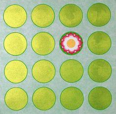 'Lotus Pond', acrylic on canvas by Madan Meena, co-author of Nurturing Walls (Tara Books) on the mural art of the Meenas of Rajasthan. Via Crimson Art Gallery Indian Folk Art, Indian Artist, Pond Painting, Painting & Drawing, Pichwai Paintings, Lotus Pond, Applique Tutorial, Reverse Applique, Krishna Art