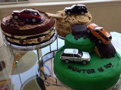 Hunter's Land Rover  cake 2014