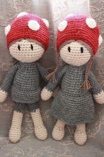 Galna i Garn: En hyllning till Elsa Beskow - Tomtebo barnen Love Crochet, Crochet For Kids, Beautiful Crochet, Knit Crochet, Crochet Amigurumi, Amigurumi Doll, Knitted Dolls, Crochet Dolls, Elsa Beskow