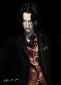 Jyrki. Beautiful Vampire by VampireDarlla.deviantart.com on @deviantART