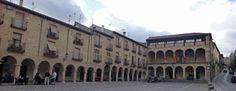 Plaza Mayor de Sigüenza, Guadalajara, España