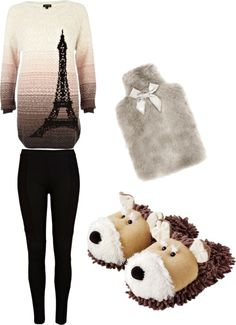 """Lazy outfit"" by marthachedondo on Polyvore"