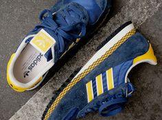 adidas Originals Marathon PT – Navy – Yellow