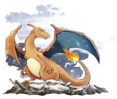 Day 1 (still): Favourite Pokémon No.4 = Charizard. HE IS AN AMAZING FIREY DRAGON THING WHAT MORE COULD YOU WANT